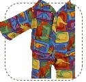 Dinosaur Pajamas for Earth Friend Doll