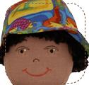 Dinosaur Hat for Earth Friend Doll