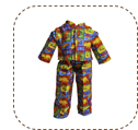 dinosaur pajamas for big Earth Friend doll