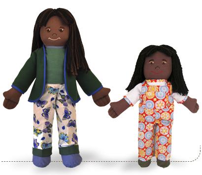 Lilah Earth Girl, Earth Friend Doll