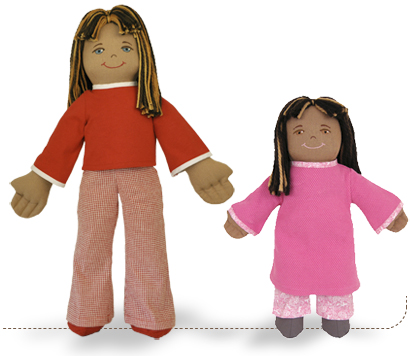 Malia Earth Girl, Earth Friend Dolls
