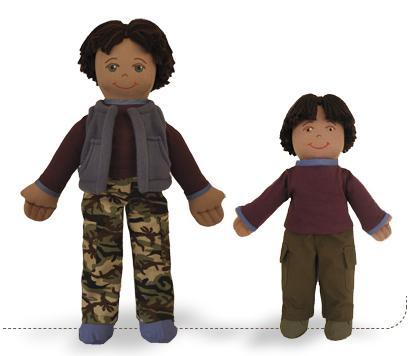Raji Earth Boy, Earth Friend Doll